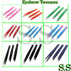Eyebrow Tweezers Hair Tweezers Slanted Straight Pointy Set Of 3