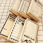 Creative Stationery Time Management Plan Schedule Seal Calendar Tool Y