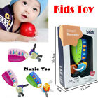 Baby Car Key kids Musical Keys Baby's Sound and Light Pretend Toy Keychain Hot