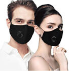 Cotton Air Pollution Face Mask With PM2.5 Filter And Respirator - Military Grade