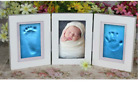 Baby Foot/Hand Print Cast Photo Frame