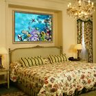 3d Undersea Starfish 6 Framed Poster Home Decor Print Painting Art Aj Wallpaper