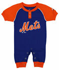 """Majestic MLB Infant New York Mets """"Game Time"""" Coverall"""
