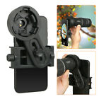Phone Monocular Telescope Camera Adapter Spotting Scope Microscope Mount Holder