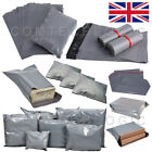 Grey Mailing Bags Self Seal Strong Postage Postal Poly Pack (230x300mm 9