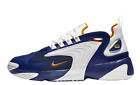 {AO0269-400} NIKE MENS ZOOM 2K SAIL BLUE/WHITE/ORANGE *NEW*