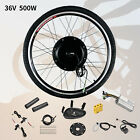 "26"" Front/Rear Wheel 36/48V Electric Bicycle E-bike Conversion Kit Cycling Motor"
