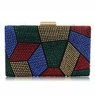 Women Clutches Crystal Evening Bags Clutch Purse Party Wedding Handbags Gift 6 C