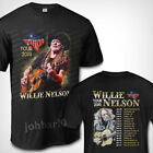 Willie Nelson Tour Dates 2019 T SHIRT S-3XL MENS image