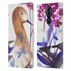 OFFICIAL MAI AUTUMN BIRDS LEATHER BOOK WALLET CASE FOR MICROSOFT NOKIA PHONES