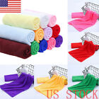 US STOCK 1pc Microfiber Towels Soft Car Wash Polish Drying Cleaning Cloth Towel