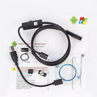 USB 7mm Endoscope Camera Waterproof Lens for Andriod PC