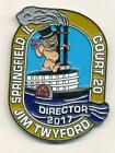 Royal Order Of Jesters ROJ Challenge Coin Springfield IL Court 20 Jim Twyford