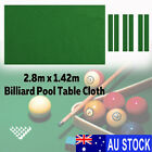 AU 9.5FT Worsted Pool Snooker Billiard Table Cover Cloth Heavy Duty +Felt Strip $41.99 AUD on eBay