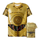 Star Wars C-3PO Droid Costume Mens Graphic All-Over T Shirt $36.0 USD on eBay