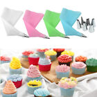 8PC Stainless Silicone Icing Piping Cream Pastry Bag Nozzle Cake Decorating Tool
