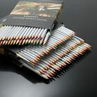 24/36/48 Colors Water Soluble Artists Drawing Sketching Pencil & 1 Brush Set Box