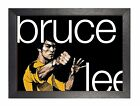 Bruce Lee Art Quote Motivation Poster Hong Kong American Actor Poster Photo
