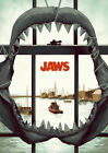 JAWS MOVIE SHARK Art Silk Poster  24x36' 24x43'