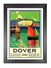 Dover Railway Vintage Holiday Beautiful Amazing Price Posted Kent Advert Photo