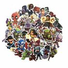 50 Pcs/Lot Stickers Avengers Super Hero For Car Laptop Skatboard Decal Vinyl Art