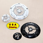 US RSD CNC Derby Timing Timer Cover For Harley Road King Dyna FXSB Classic FLSTC