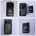 New 3.6V Rechargeable Battery /Charger for Sony PSP-110 PSP-1001 PSP 1000 FAT