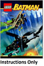 NEW INSTRUCTIONS ONLY LEGO BAT-COPTER CHASE FOR SCARECROW 7786 book from set