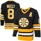 Mitchell  Ness Cam Neely Boston Bruins Black Throwback Authentic Vintage Jersey