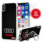 Audi Car Phone Case And PULL UP Stand Phone Grip Finger Holder 041-3