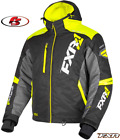 2019 FXR Men's Mission FX Snowmobile Jacket Black/Hi Vis/Charcoal MD XL 2XL 3XL