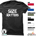Size Matters Gym Rabbit T-Shirt Workout BodyBuilding Fitness Motivation Tee F049 image