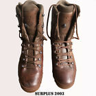Haix Cold Wet Weather Full Leather Brown MTP Boots British Army Surplus Issue