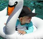 75'' Inflatable Leisure Giant Swan Float Rideable Raft Swimming Pool Celebrity