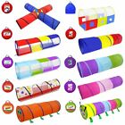 Children Play Tunnel Foldable Crawl Tent Indoor Outdoor Kid Baby Crawl Game Tent