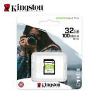 Kingston 16GB 32GB 64GB Canvas Select SDHC SDXC C10 SD Memory Card UHS-I U1