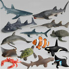 Ocean Sealife Animals Whale Turtle Shark Model Kids Educational Gift Toy TYUK