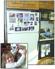 Set of 10, 4x6 Magically Magnetic Black or White Photo frames, FREE shipping