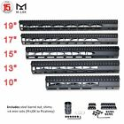 Free Float Handguard M-LOK Picatinny Slim 19 17 15 13 10 Aluminum US SELLER