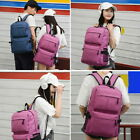 Unisex Backpack with USB Charge Port Travel Anti-theft Laptop School Rucksack GI