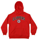 OuterStuff NBA Youth Los Angeles Clippers Fleece Pullover Hoodie, Red on eBay