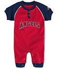 "Majestic MLB Infant Los Angeles Angels ""Game Time"" Coverall on Ebay"