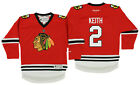 Reebok NHL Kids Chicago Blackhawks Duncan Keith #2 Replica Player Jersey, Red $29.95 USD on eBay