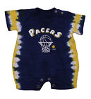 NBA Basketball Boys Infants Newborn Indiana Pacers Tie Dye Jersey Romper, Navy on eBay