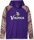 Zubaz NFL Men's Minnesota Vikings Light Weight Zebra Hoodie on eBay