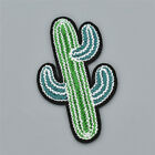 Succulent Plant Patch Cactus Embroidered Applique Sewing Clothing Accessories