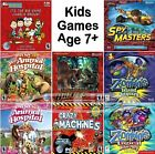 Age 8+ Childrens Kids Games PC Windows XP Vista 7 8 10 Sealed New