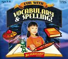 Learn Spelling Edutainment Assortment PC Windows XP Vista 7 8 10 Sealed New
