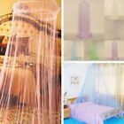 Elegant Round Curtain Bed Mosquito Net Mesh Canopy Netting Princess Dome Bedding image