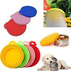 Pet Food Can Cover Lid Dog Cat Tin Silicone Plastic Reusable Storage Cap